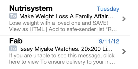 Email Subject Lines Make An Impression On Mobile The Lunch Pail