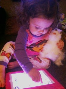 gabby and ipad